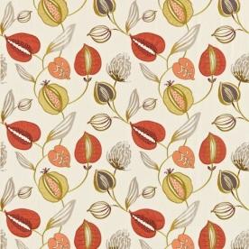 Harlequin fabrics: tembok-red